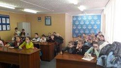 Ученики 3 класса «А» побывали на экскурсии в отделе полиции