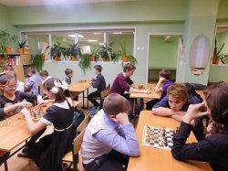 Шахматный турнир в школе.