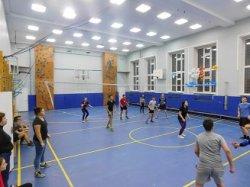 Школьные соревнования по волейболу