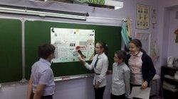 Учащиеся 4 «А» класса приняли активное участие в акции «Дорога прошлого».