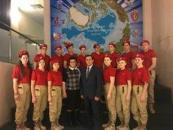 В день вывода советских войск из Афганистана таймырские отряды юнармейцев пополнились новыми участниками движения