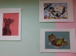 Фестиваль художников. Выставка «Кошки».
