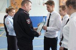 Полицейские классы Дудинки и Норильска состязались в спортивных соревнованиях в рамках празднования Дня Победы.
