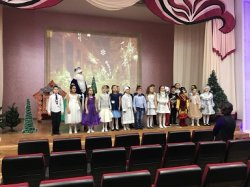 Новогоднее представление для 1-4 классов