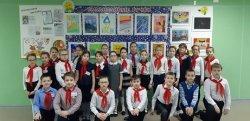 Первая персональная выставка картин ученицы  3 «Б» класса