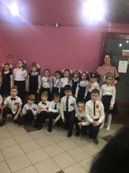 Учащиеся 1 «А» класса приняли участие в  Городском фестивале военно-патриотической песни «Виктория»