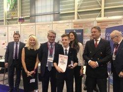 Воронов Глеб стал победителем выставки инноваций в Женеве (Швейцария).