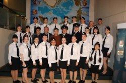 Десятиклассники юридического класса  произнесли клятву верности своей Родине