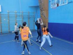 Школьный этап соревнований по баскетболу.