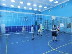 Школьный этап соревнований по волейболу.