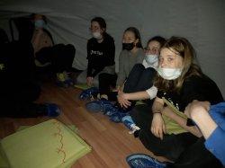 Посещение сферического кинотеатра в Таймырском краеведческом театре.